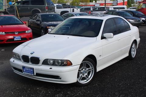 2002 BMW 5 Series for sale in Everett, WA
