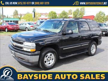 2005 Chevrolet Tahoe for sale in Everett, WA