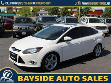 2012 Ford Focus for sale in Everett, WA