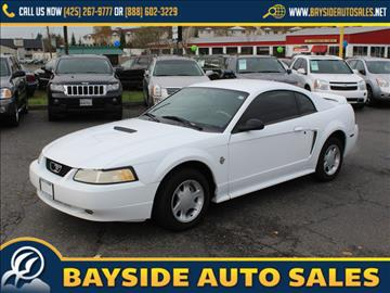 1999 Ford Mustang for sale in Everett, WA