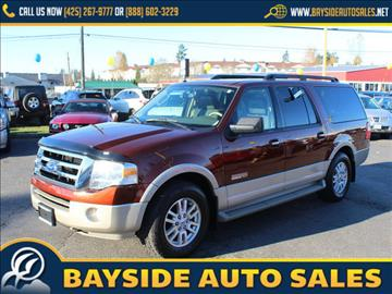 2007 Ford Expedition EL for sale in Everett, WA