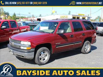2001 Chevrolet Tahoe for sale in Everett, WA