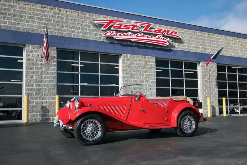 1953 MG TD for sale in St. Charles, MO