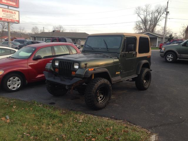 1995 Jeep Wrangler for sale in Henryville IN