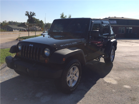 2008 Jeep Wrangler Unlimited for sale in Henryville, IN
