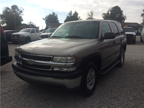 2003 Chevrolet Tahoe for sale in Henryville, IN
