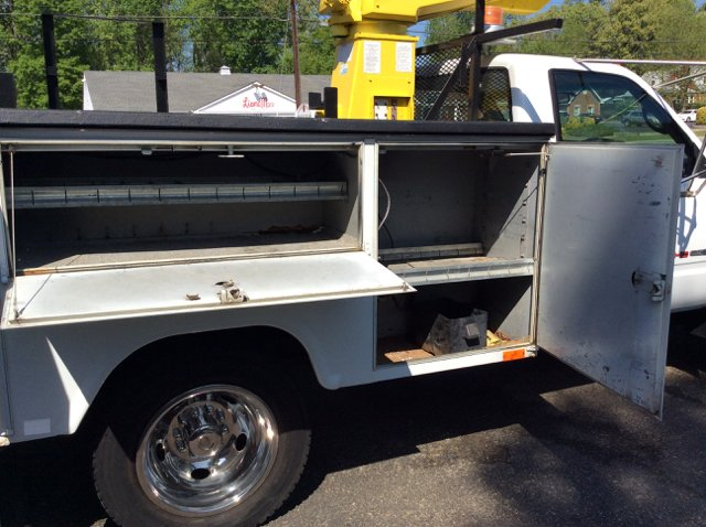 1996 GMC Sierra 3500 Hd 2-Wd 30Ft Bucke 30Ft Versalift Utility Box - Colonial Heights VA