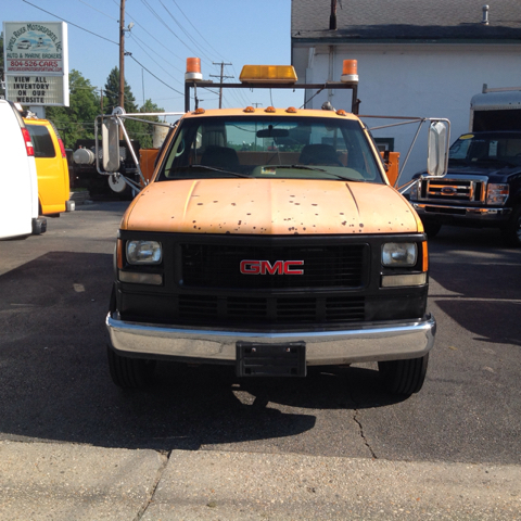 1995 GMC Sierra 3500 Hd Utility/Service 6.5 Turbo Diesel Utility/Service Bed - Colonial Heights VA