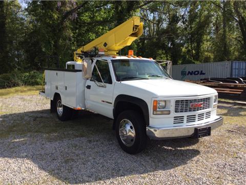 1996 GMC Sierra 3500 Hd 2-Wd 30Ft Bucke