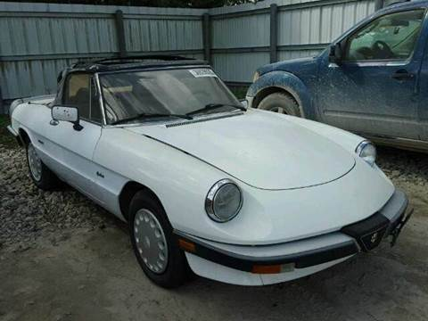 Alfa Romeo Spider For Sale In Florida Carsforsalecom - 1980 alfa romeo spider for sale