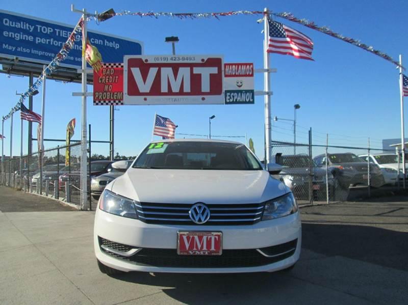 2012 Volkswagen Passat SE PZEV 4dr Sedan 6A - San Diego CA