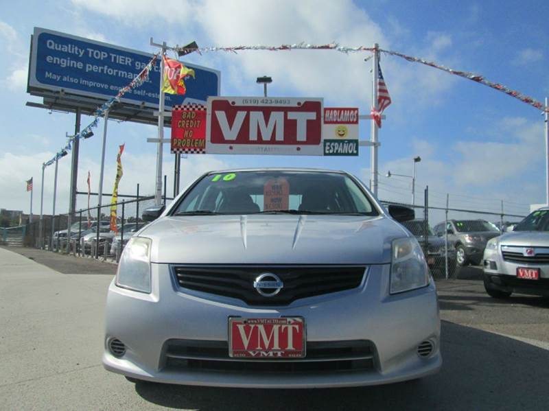 2010 Nissan Sentra 2.0 4dr Sedan 6M - San Diego CA