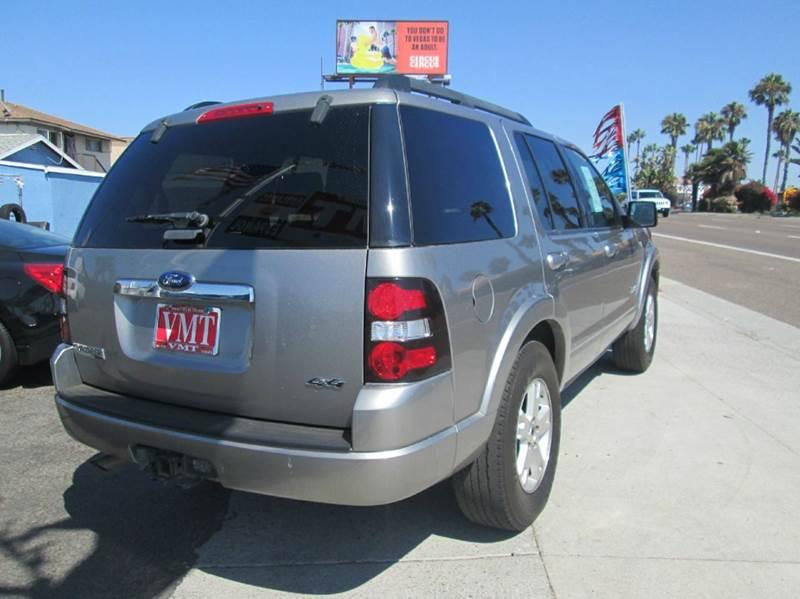 2008 Ford Explorer 4x4 XLT 4dr SUV (V8) - San Diego CA