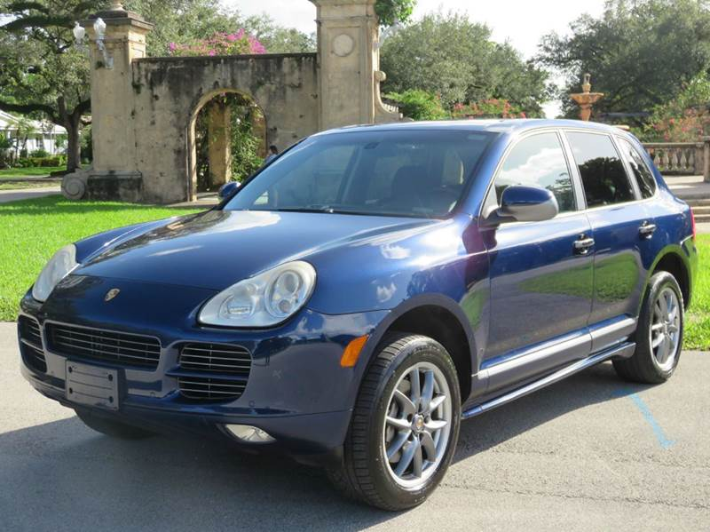 2006 porsche cayenne for sale in florida. Black Bedroom Furniture Sets. Home Design Ideas