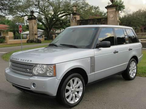 2008 Land Rover Range Rover for sale in Miami FL