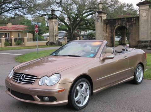 2004 Mercedes-Benz CLK for sale in Miami, FL