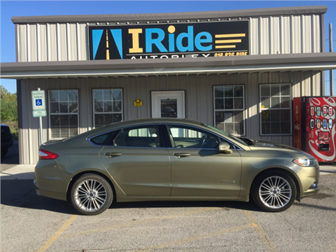 2013 Ford Fusion Hybrid for sale in Tulsa, OK