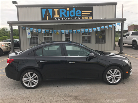 2016 Chevrolet Cruze Limited for sale in Tulsa, OK