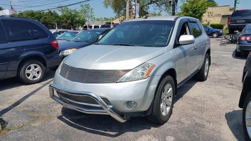 2006 Nissan Murano 4dr S V6 AWD   Patchogue NY
