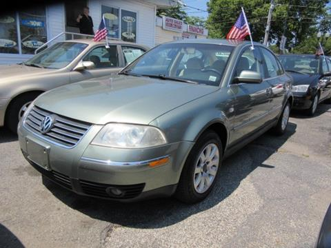 2002 Volkswagen Passat for sale in Patchogue, NY