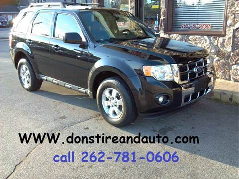 2011 Ford Escape for sale in Butler, WI