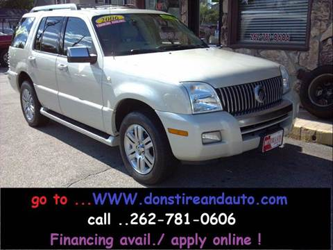 2006 Mercury Mountaineer for sale in Butler, WI