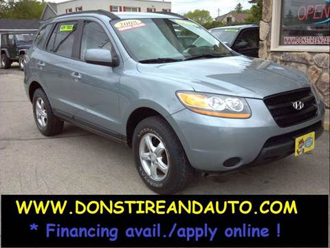 2008 Hyundai Santa Fe for sale in Butler, WI