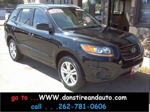 2010 Hyundai Santa Fe for sale in Butler, WI