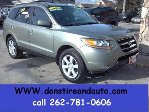 2008 Hyundai Santa Fe for sale in Butler, WI