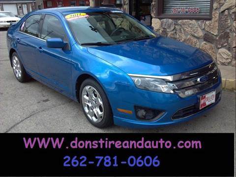 2011 Ford Fusion for sale in Butler, WI