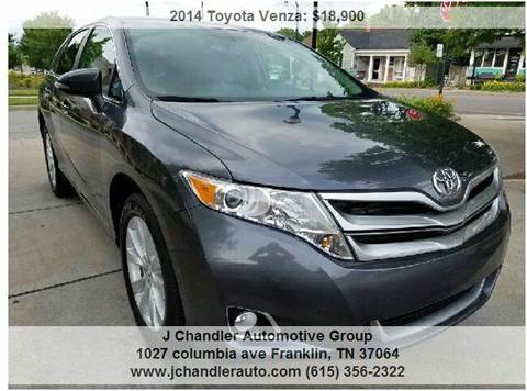 2014 Toyota Venza for sale in Franklin, TN