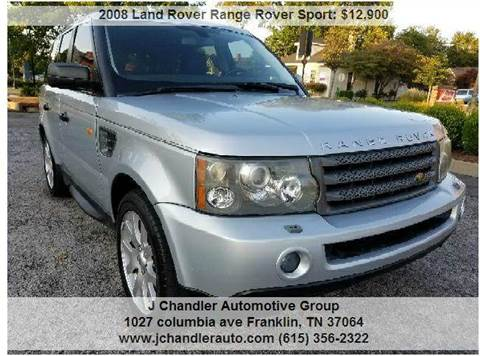 2008 Land Rover Range Rover Sport for sale in Franklin, TN