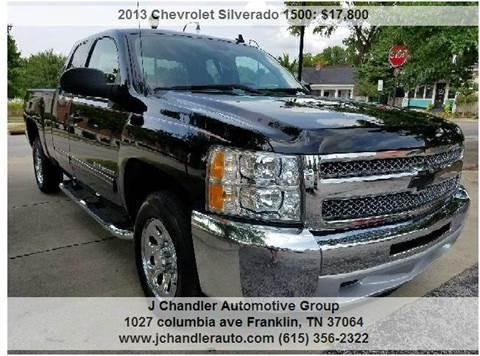 2013 Chevrolet Silverado 1500 for sale in Franklin, TN