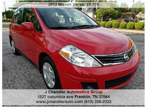 2012 Nissan Versa for sale in Franklin, TN