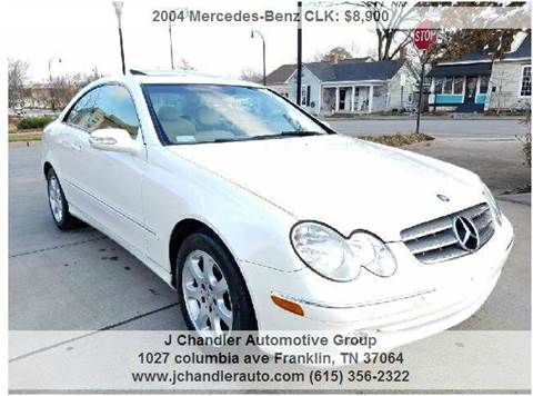 2004 Mercedes-Benz CLK for sale in Franklin, TN
