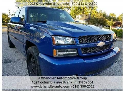 2003 Chevrolet Silverado 1500 SS for sale in Franklin, TN