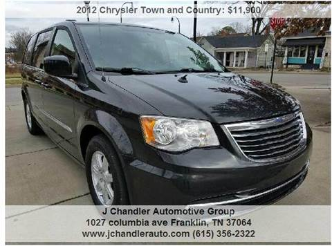 2012 chrysler town and country for sale. Black Bedroom Furniture Sets. Home Design Ideas
