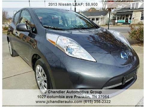 2013 Nissan LEAF for sale in Franklin, TN