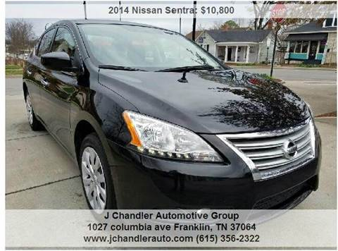 2014 Nissan Sentra for sale in Franklin, TN