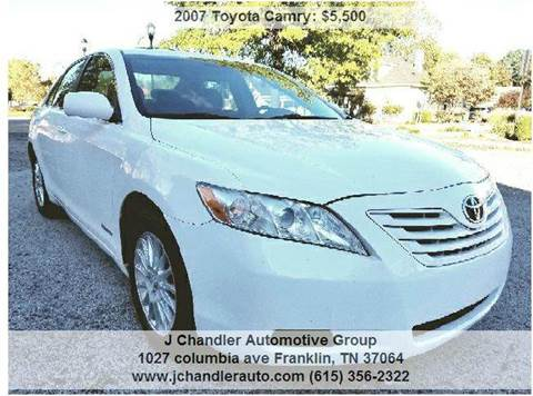2007 Toyota Camry for sale in Franklin, TN