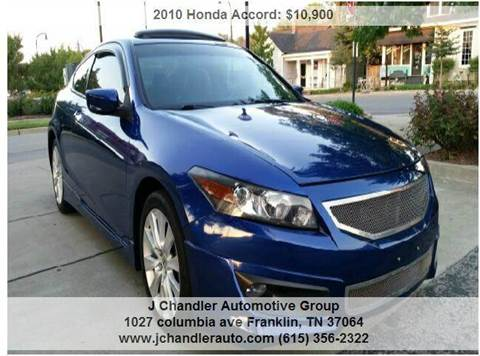 2010 Honda Accord for sale in Franklin, TN