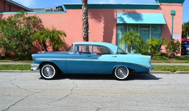 Search results all collector cars for 1956 chevy 4 door hardtop for sale