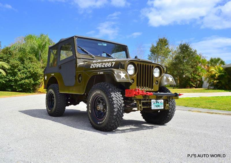 1955 Willys Jeep Military  - Clearwater FL