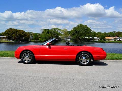 2002 ford thunderbird for sale florida. Black Bedroom Furniture Sets. Home Design Ideas