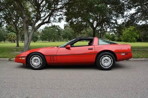 used 1986 chevrolet corvette for sale florida. Black Bedroom Furniture Sets. Home Design Ideas