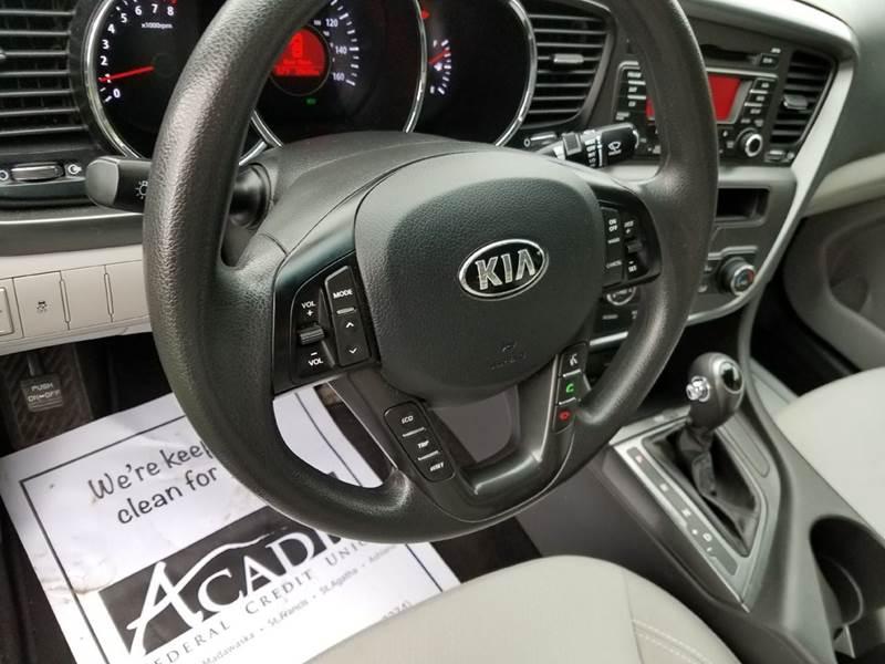 2013 Kia Optima LX 4dr Sedan - St. David ME