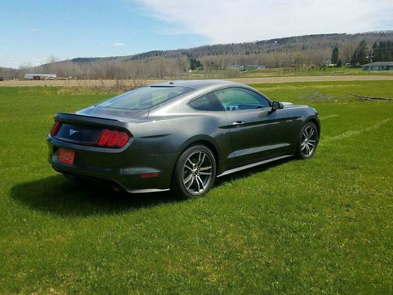 2017 Ford Mustang EcoBoost Premium 2dr Fastback - St. David ME