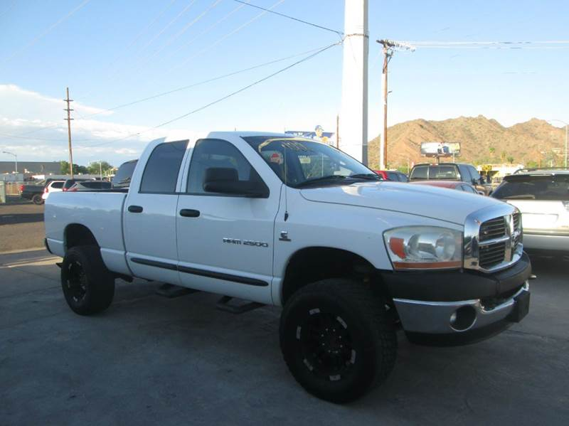 2006 dodge ram pickup 2500 slt 4dr quad cab 4wd sb in phoenix az north auto sales. Black Bedroom Furniture Sets. Home Design Ideas