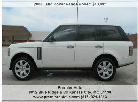 2006 Land Rover Range Rover for sale in Kansas City, MO