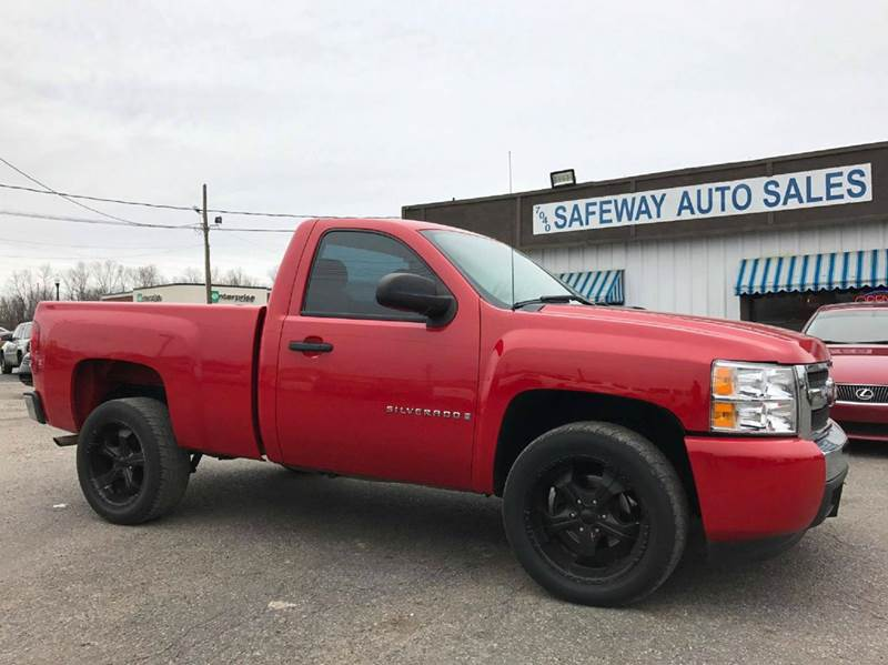 2008 Chevrolet Silverado 1500 2WD Work Truck 2dr Regular Cab 6.5 ft. SB - Horn Lake MS